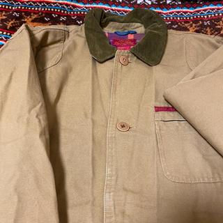 L.L.Bean - 古着 襟コーデュロイ ハンティングジャケット ユーロ ヴィンテージ