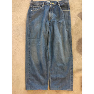 AURALEE HARD TWIST WIDE DENIM