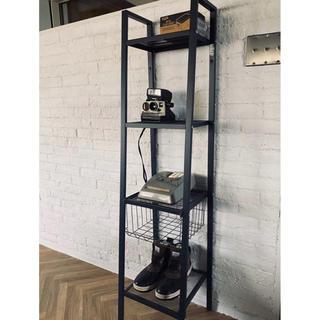 インダストリアル スチールラック 棚 キャビネット 収納棚 本棚 ケース 雑貨(棚/ラック/タンス)