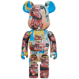 メディコムトイ(MEDICOM TOY)のBE@RBRICK JEAN-MICHEL BASQUIAT #6 1000%(フィギュア)