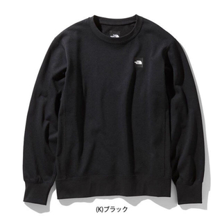 THE NORTH FACE - THE NORTH FACE ノースフェイス ヘザーロゴクルー