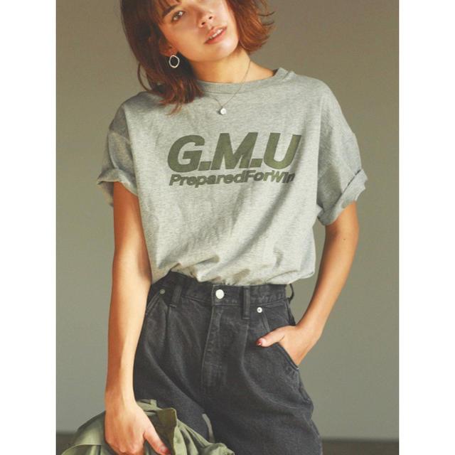Ungrid(アングリッド)のungrid G.M.UロゴプリントTee レディースのトップス(Tシャツ(半袖/袖なし))の商品写真