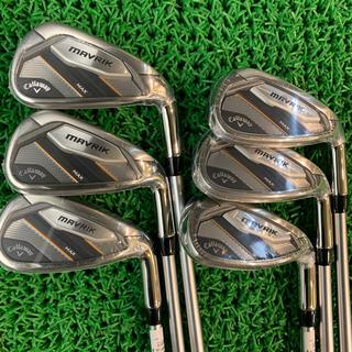 キャロウェイゴルフ(Callaway Golf)の送料込み新古品CWマーベリックMAX IR6番〜A6本セット純正カーボンS(クラブ)