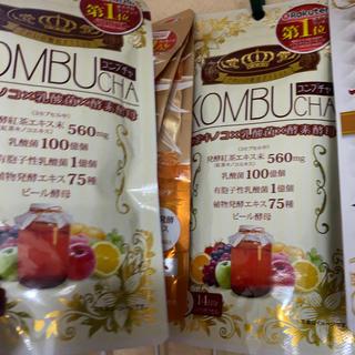 ヤクルト(Yakult)のKOMBUCHA 42粒X2個セット(ダイエット食品)