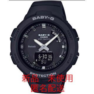 ベビージー(Baby-G)のカシオ Baby-G 歩数計測 腕時計 BSA-B100-1AJF ブラック(腕時計(アナログ))