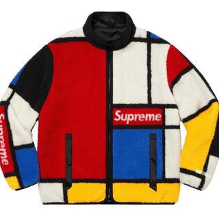 Supreme - Reversible Colorblocked Fleece Jacket