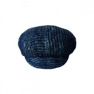 【Porter Classic ポータークラシック】刺し子ライトキャスケット(ハンチング/ベレー帽)
