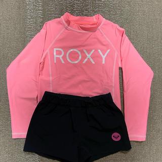 ロキシー(Roxy)の2点セット ラッシュガード、サーフパンツ(水着)