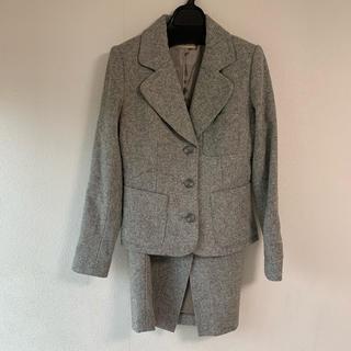グレースコンチネンタル(GRACE CONTINENTAL)のグレースコンチネンタル   ツイードスーツ サイズ36(スーツ)
