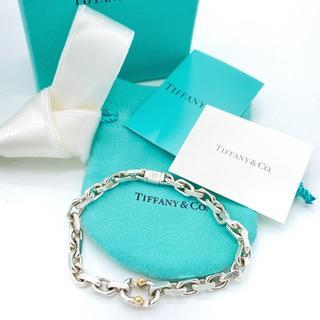 Tiffany & Co. - 美品 ティファニー メイカーズ ナロー ラージ ブレスレット KK26