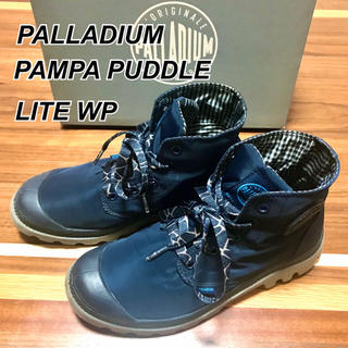 パラディウム(PALLADIUM)のPALLADIUM PAMPA PUDDLE LITE WP NAVY(スニーカー)