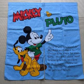 ディズニー(Disney)のミッキー プルート のれん 暖簾 インテリア レトロ(のれん)