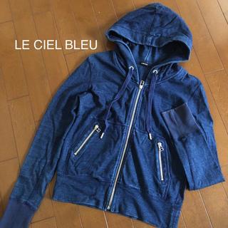ルシェルブルー(LE CIEL BLEU)のLE CIELBLEU デニムパーカー(パーカー)