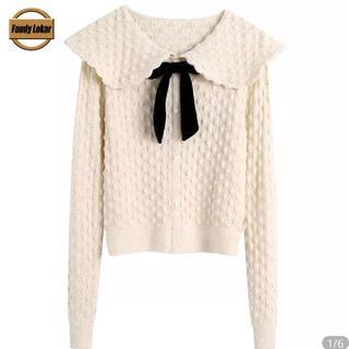 snidel - (即納)ribbon Knit cardigan❤︎