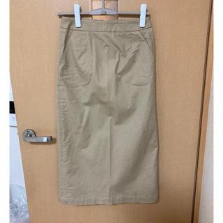 ドアーズ(DOORS / URBAN RESEARCH)のアーバンリサーチドアーズ ♡  チノ タイトスカート(ひざ丈スカート)