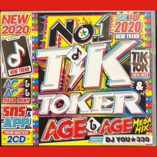 洋楽CD NO.1 TIK & TOKER AGE AGE MEGAMIX!!