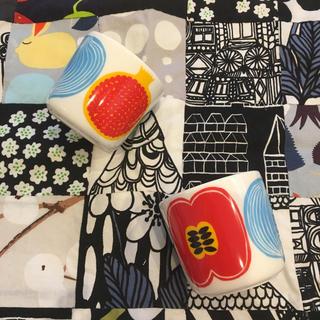廃盤 マリメッコ marimekko コンポッティ ラテマグ2個セットマグカップ(食器)