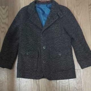 エイチアンドエム(H&M)のH&M テーラードジャケット 110 ブラック 秋冬(ジャケット/上着)
