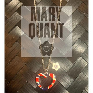 MARY QUANT - マリークワント ハートネックレス