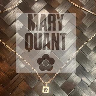 マリークワント(MARY QUANT)のマリークワント ボックスモチーフネックレス(ネックレス)