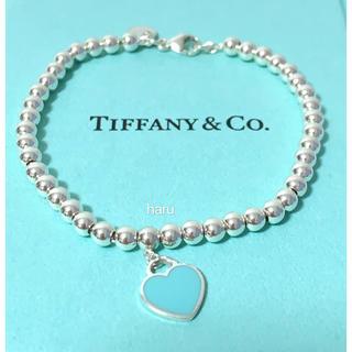 Tiffany & Co. - 極美品TIFFANY&Co. ティファニーブレスレットシルバーブルー