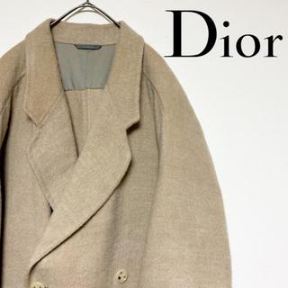 クリスチャンディオール(Christian Dior)の【ヴィンテージ】Christian Dior ウールダブルコート ユニセックス(その他)