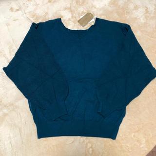 シマムラ(しまむら)のしまむら ボリューム袖2WAYセーター L(ニット/セーター)