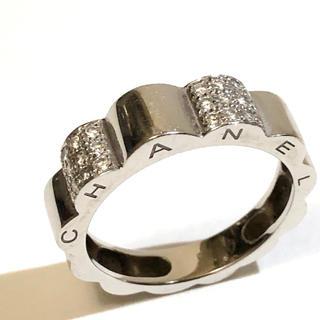 シャネル(CHANEL)のCHANEL【シャネル】 プロフィールド カメリア ダイヤモンド リング 指輪(リング(指輪))