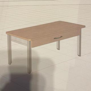 ピコ様専用 北欧 ローテーブル 引き出し タイプ リピーター様(ローテーブル)