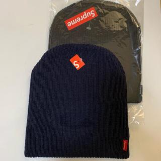 シュプリーム(Supreme)の希少 2色セット Supreme / Basic Beanie Knit Cap(ニット帽/ビーニー)