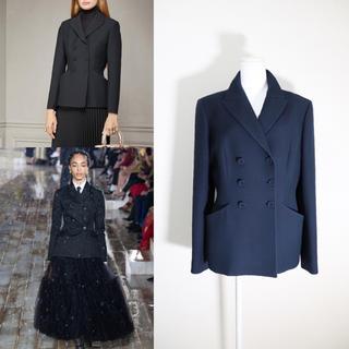 クリスチャンディオール(Christian Dior)の極美品 Christian Dior ディオール 19AW バー ジャケット(テーラードジャケット)
