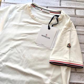MONCLER - 【新品未使用・正規品】MONCLER モンクレール ロゴパッチ付Tシャツ