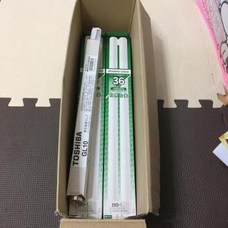 ミツビシ(三菱)の三菱コンパクト形蛍光ランプ32W TOSHIBA 殺菌ランプセット(蛍光灯/電球)