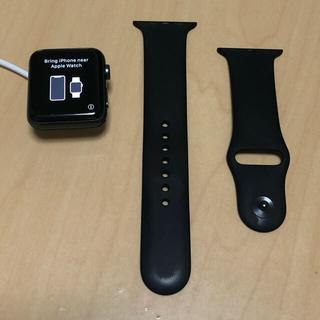 Apple Watch - Apple watch series3 42mm アルミニウム