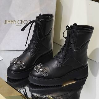 JIMMY CHOO - JIMMY CHOO ブーツ 38