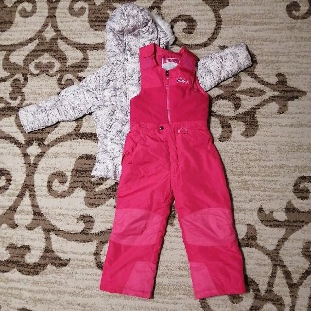 キッズ スキーウェア 女の子 Size6 120  スポーツ/アウトドアのスキー(ウエア)の商品写真