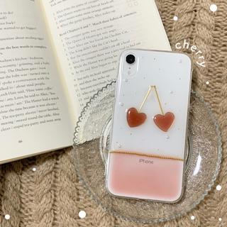 ˗ˏˋ cherry iPhone case ˎˊ˗