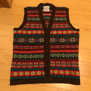 ユナイテッドアローズ(UNITED ARROWS)のジャミーソンズ ニット Jamieson's Knitwear フェアアイル柄(ニット/セーター)