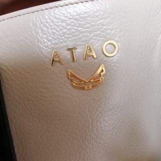 アタオ(ATAO)のATAO ミニドリー グレー×ブラック(トートバッグ)
