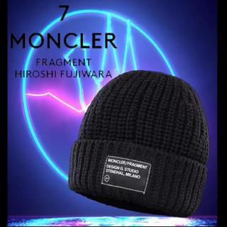 モンクレール(MONCLER)の20-21AW【新品】MONCLER FRAGMENT ビーニー ニットキャップ(ニット帽/ビーニー)