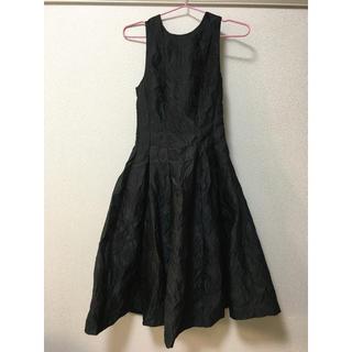 エイチアンドエム(H&M)のH&M パーティードレス パーティー用ワンピース 黒 ブラック(ロングドレス)