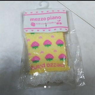 メゾピアノ(mezzo piano)のメゾピアノ ソックス 11~12cm(靴下/タイツ)