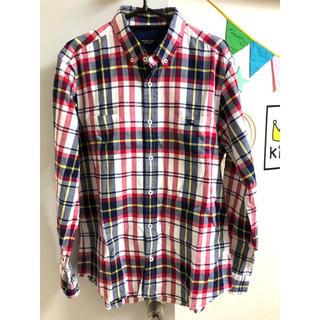 BURBERRY BLACK LABEL - 期間限定お値下げ!美品バーバリーブラックレーベル チェックシャツ