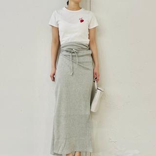 エディットフォールル(EDIT.FOR LULU)のLisa Says Gah strawberry いちご刺繍 TEE(Tシャツ(半袖/袖なし))