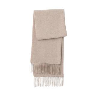 ムジルシリョウヒン(MUJI (無印良品))の無印良品 新品未使用タグ付 ウール織り大判ストール (マフラー/ショール)