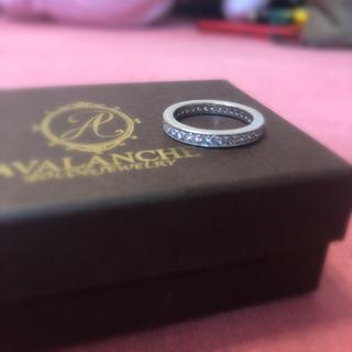 アヴァランチ(AVALANCHE)の♡ AVALANCHE リング シルバー 7号(リング(指輪))