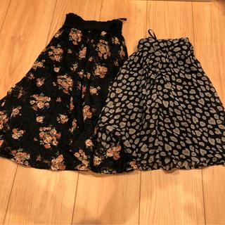 ハニーズ(HONEYS)のミニスカート Mサイズ 美品 2枚セット(ミニスカート)