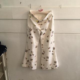 アクネ(ACNE)のAcne flower pants&RonHerman knit.(カジュアルパンツ)