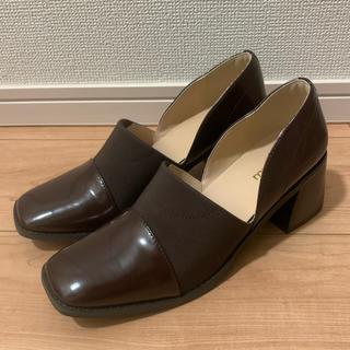 ミスティック(mystic)のmystic スクエアローファー (ブラウン)(ローファー/革靴)