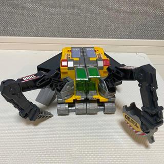 タカラトミー(Takara Tomy)のトミカハイパービルダー2号 02 ショベルとドリル プラレールトランスフォーマー(ミニカー)